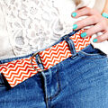 How To Make A DIY Fabric D-Ring Belt