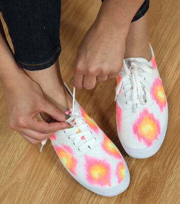 How To Make Just for Me Ikat Sneakers