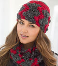 Bobble Ripple Hat and Cowl