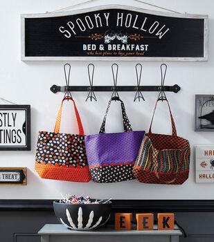 How To Make a Halloween Treat Bag