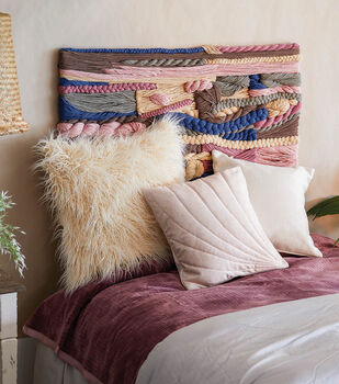How To Make A Woven Yarn Headboard