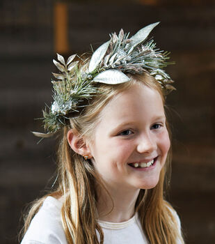How To Make A Holiday Floral Crown