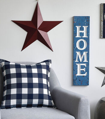 How To Make A Wooden HOME Sign