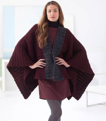 How To Crochet A Carrington Poncho