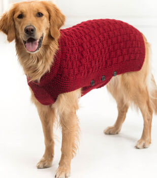 How To Make a Vanna's Choice Clifford Dog Sweater