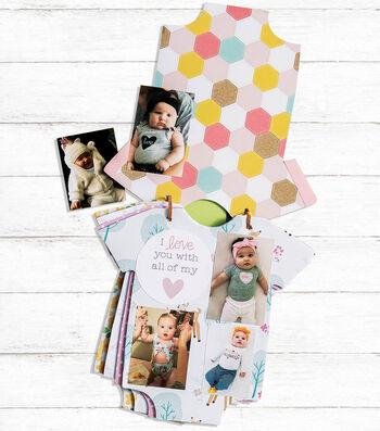 How To Make a Onesie Baby Photo Album