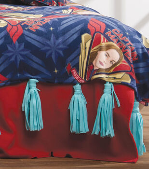 How To Make An Easy Fleece Blanket Tassels