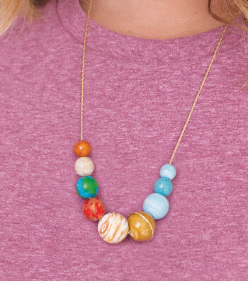 Make A Solar System Necklace