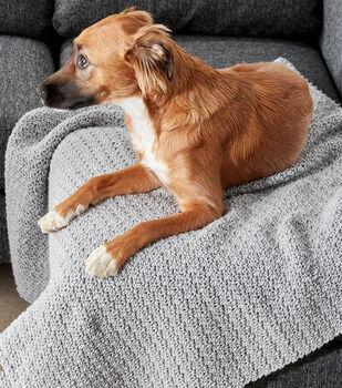Make A Crochet Snuggle Pet Blanket