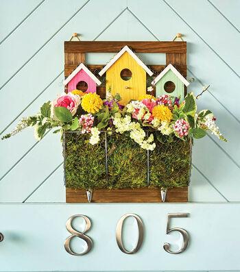 How To Make A Wood Bird House Springtime Planter