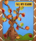 Fall Into Reading Bulletin Board Decor