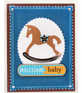 David Tutera Celebrate Card:  Welcome Baby Boy Card