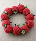 Lily Sugar \u0027n Cream Crochet Apple Wreath