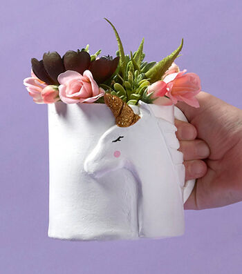 Make A Unicorn Planter