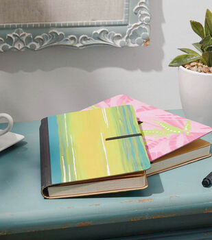 How To Make A Painted Journal