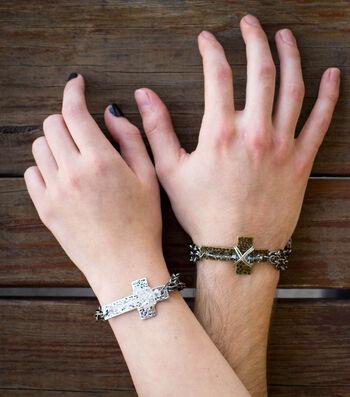 Make His And Hers Celecration Bracelets