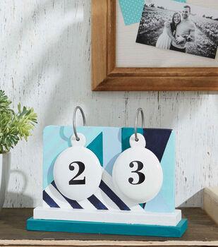 How To Make A Painted Flip Calendar