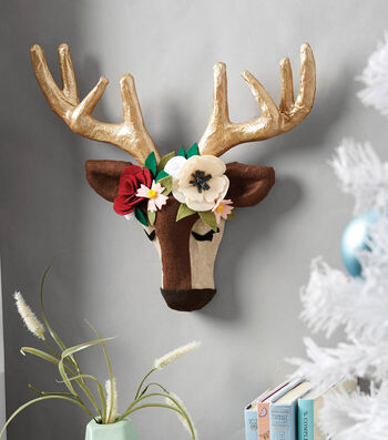 How To Make A Holiday Deer Head