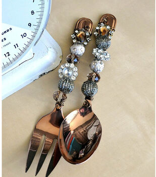 Way of the Glue Gun's Wire Wrapped Serving Utensils
