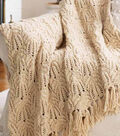 Lace and Cable Afghan