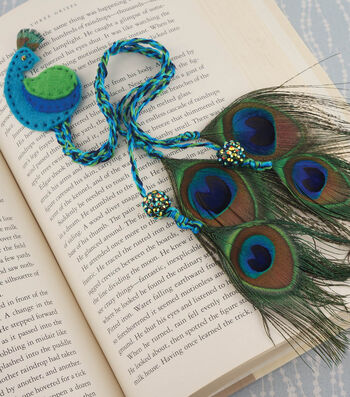 Peacock Bookmark How-To
