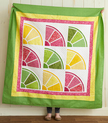How To Make A 43 X 43 Fruit Quilted Wall Hanging
