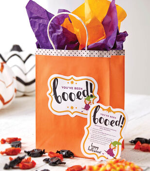 You've Been Boo'd Printables