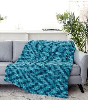 How To Make A Bernat Alize Blanket EZ Afghan