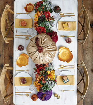 How To Make A Fall Pumpkin Tablescape