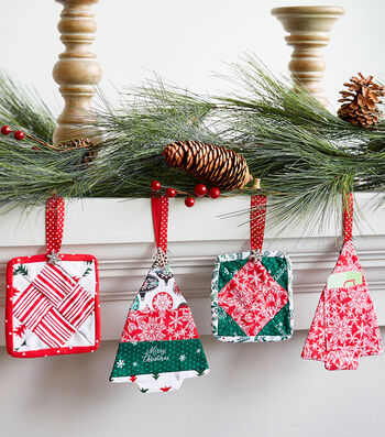 How to Make Quilted Gift Card Ornaments