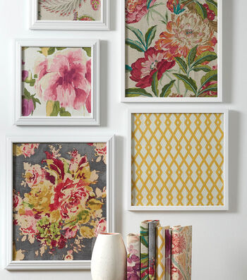 How To Make Framed Fabric Art