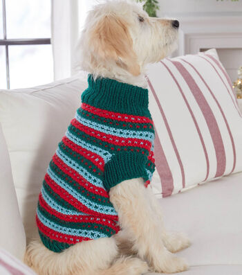 How To Make a Stylish Knit Dog Sweater