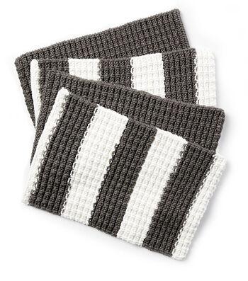 How To Make A Bernat Maker Outdoor Knit Placemat