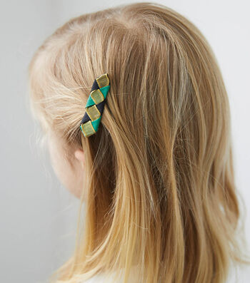 How To Make Braided Hairclips