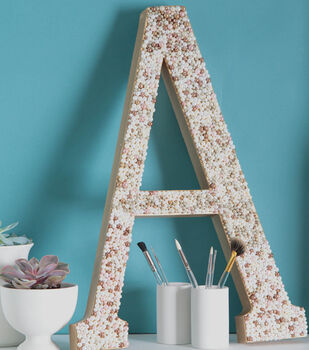 Pretty In Pearls Monogram