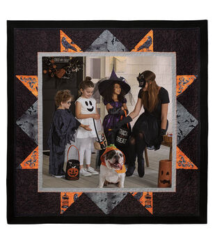How To Sew A Halloween Photo Quilt