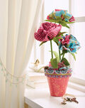 Buttercream Olivia Collection Flower Pot
