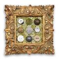 Framed Button Art