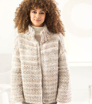 How To Make A Wool-Ease Thick & Quick Easy Cozy Cardi