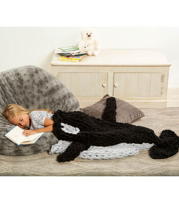 How To Make A Arm Knit Orca Blanket