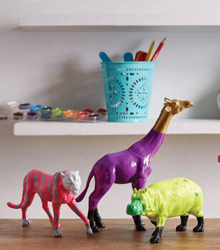 How To Make Painted Animal Projects