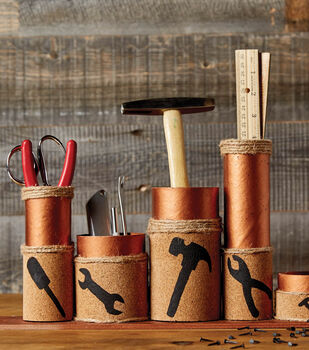 How To Make A Copper Tool Holder Set