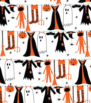 Halloween Ghost and Pumpkin Printable
