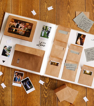How To Make a Wedding Memory Guest Book