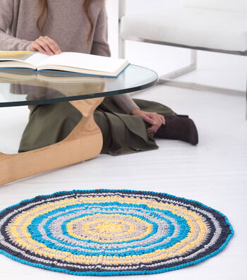 How To Make A Fast-Track Circular Rug