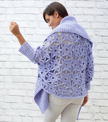 How To Make A Granny Lace Crochet Cardigan
