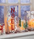 Hand-Painted Holiday Luminaries