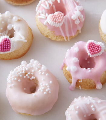 How To Make Mini Valentine's Day Donuts