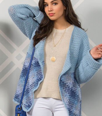 How To Make A Premier Yarns Everyday Plaid Highlands Cardigan