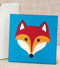 Painted Fox Canvas